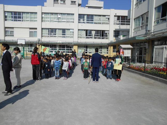 連雀学園 南浦小学校/平成28年度 対面式